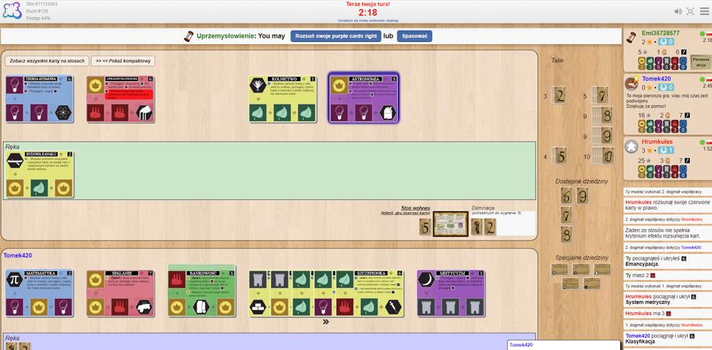 Screen z gry Innowacje